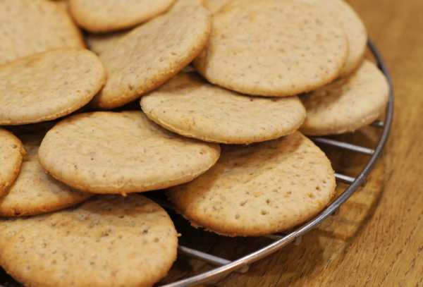 Печенье для детей 1 года рецепты без молока